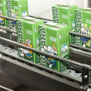 Linha de produção leite UHT